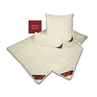 Garanta Merino - Duo-Warm Steppbett / Winter Bettdecke,